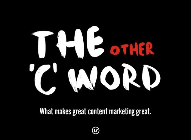 confidence in content marketing