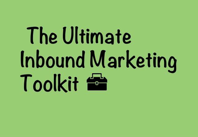 inbound marketing toolkit