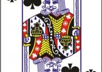 k playing card